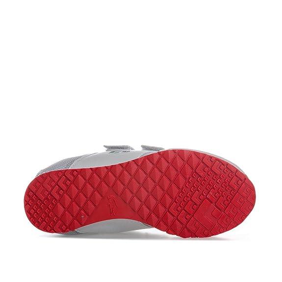 40c19747386d Lacoste footwear Lacoste Infants Grey L.Ight 177 Velcro Trainers 3 UK 19  Euro (Infants)  Amazon.co.uk  Shoes   Bags