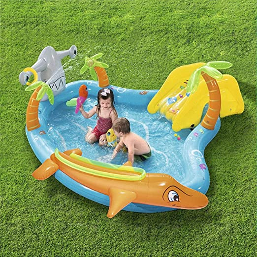 GLokpp Kids Pool/Piscina Inflable/Piscina niño/Blow Up Pool/niño ...