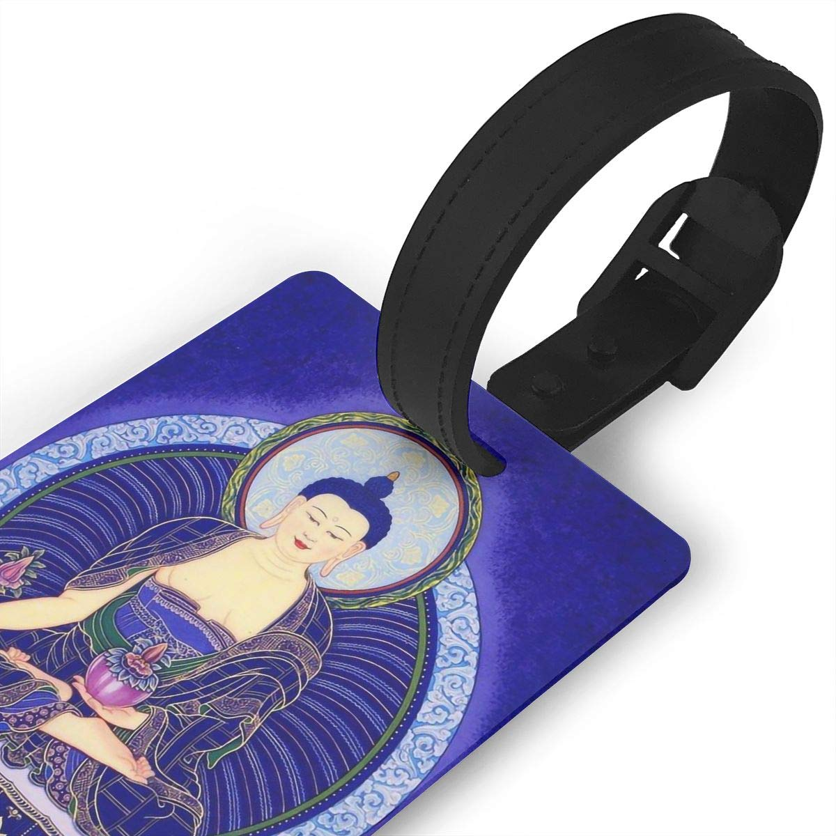 2 Pack Luggage Tags Buddhism Handbag Tag For Travel Tags Accessories