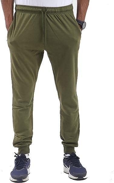 Parsa Fashions Pantalones de chándal para Hombre, Ajustados, de ...