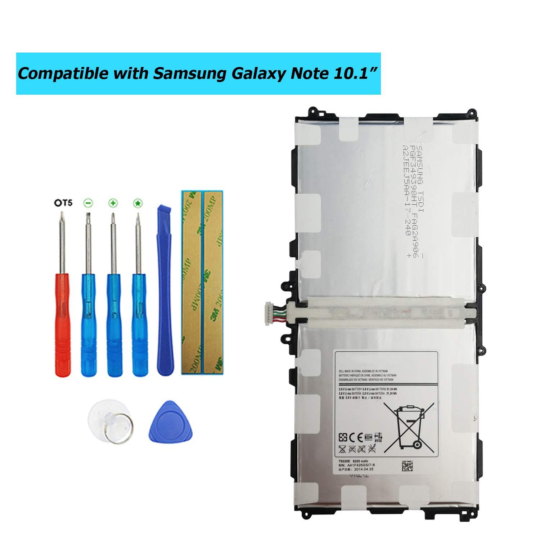 Bateria Tablet T8220E para Samsung Note 10.1 SM-P600 P601 P6