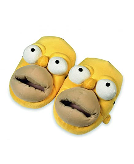The Simpsons Homer Simpson Zapatillas Puschen 37 38 39 40https://amzn.to/2Ikimex