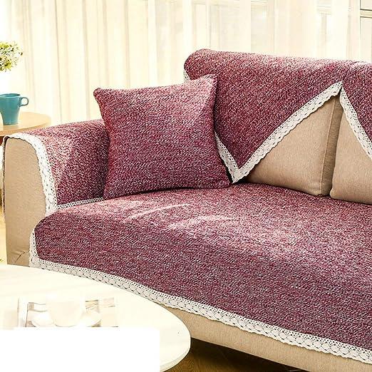 Yijiayun Funda de sofá Protector de Muebles para sofá, 3 ...