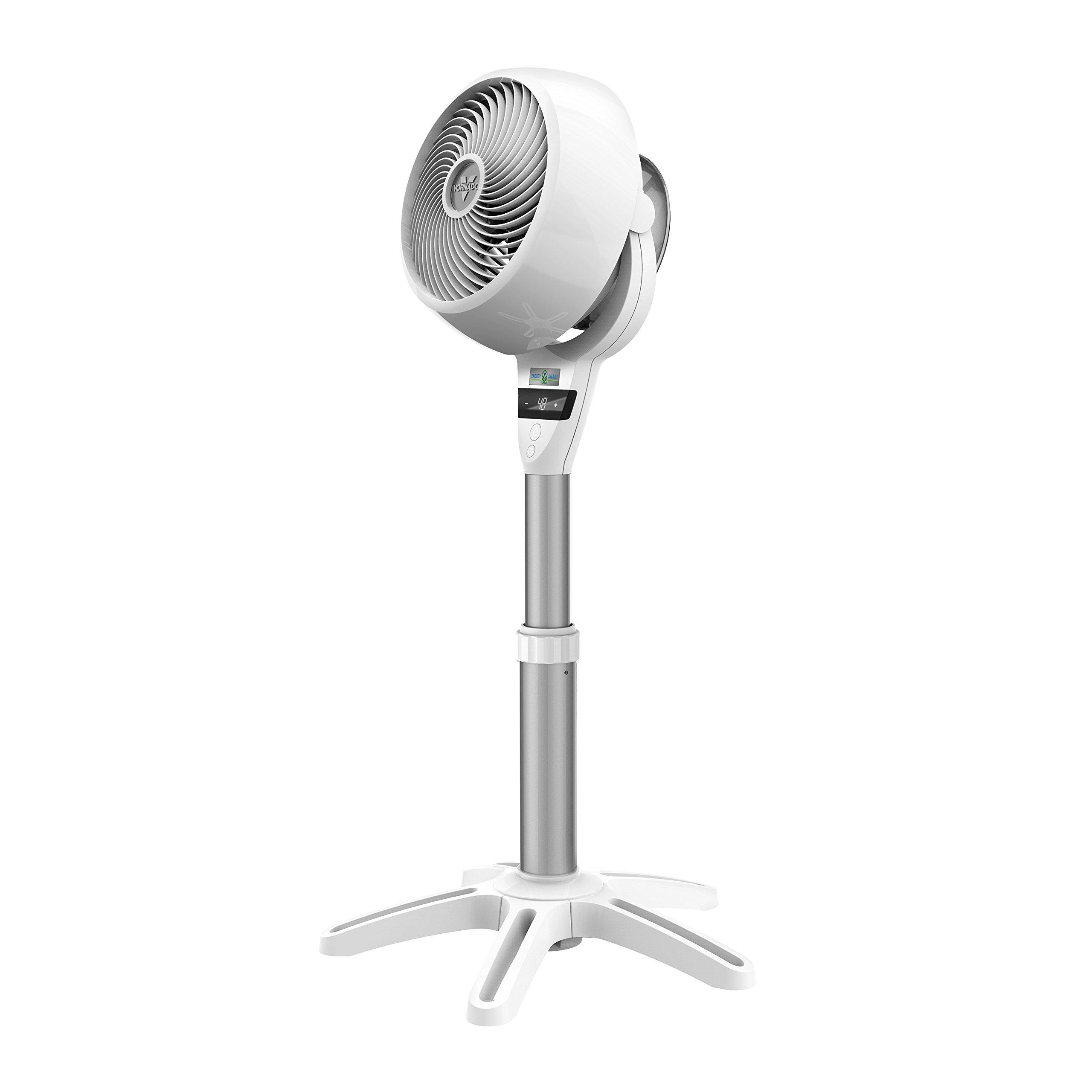 Vornado 6803DC Energy Smart Medium Pedestal Air Circulator Fan with Variable Speed Control by Vornado