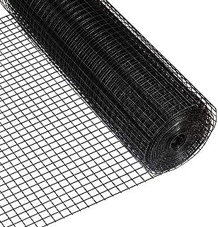Amazon Com Fencer Wire 16 Gauge Black Vinyl Coated Welded Wire Mesh Size 1 5 Inch By 1 5 Inch 2 Ft X 100 Ft Garden Outdoor