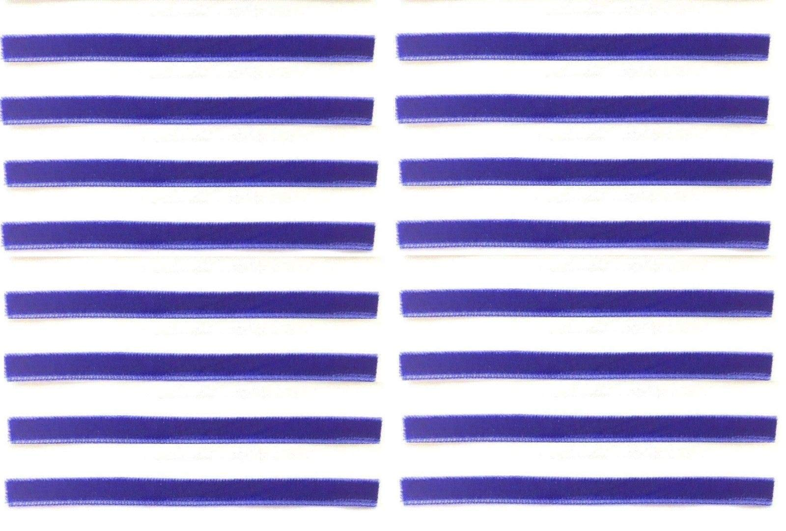 Royal Blue Replacement Cleaning Strips (16-Pack) VPI Okki Nokki 3M LP Vinyl Record Album by Capitol Collectibles