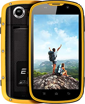 Teléfono Móvil Resistente, E&L W5S IP68 Smartphone Impermeable ...