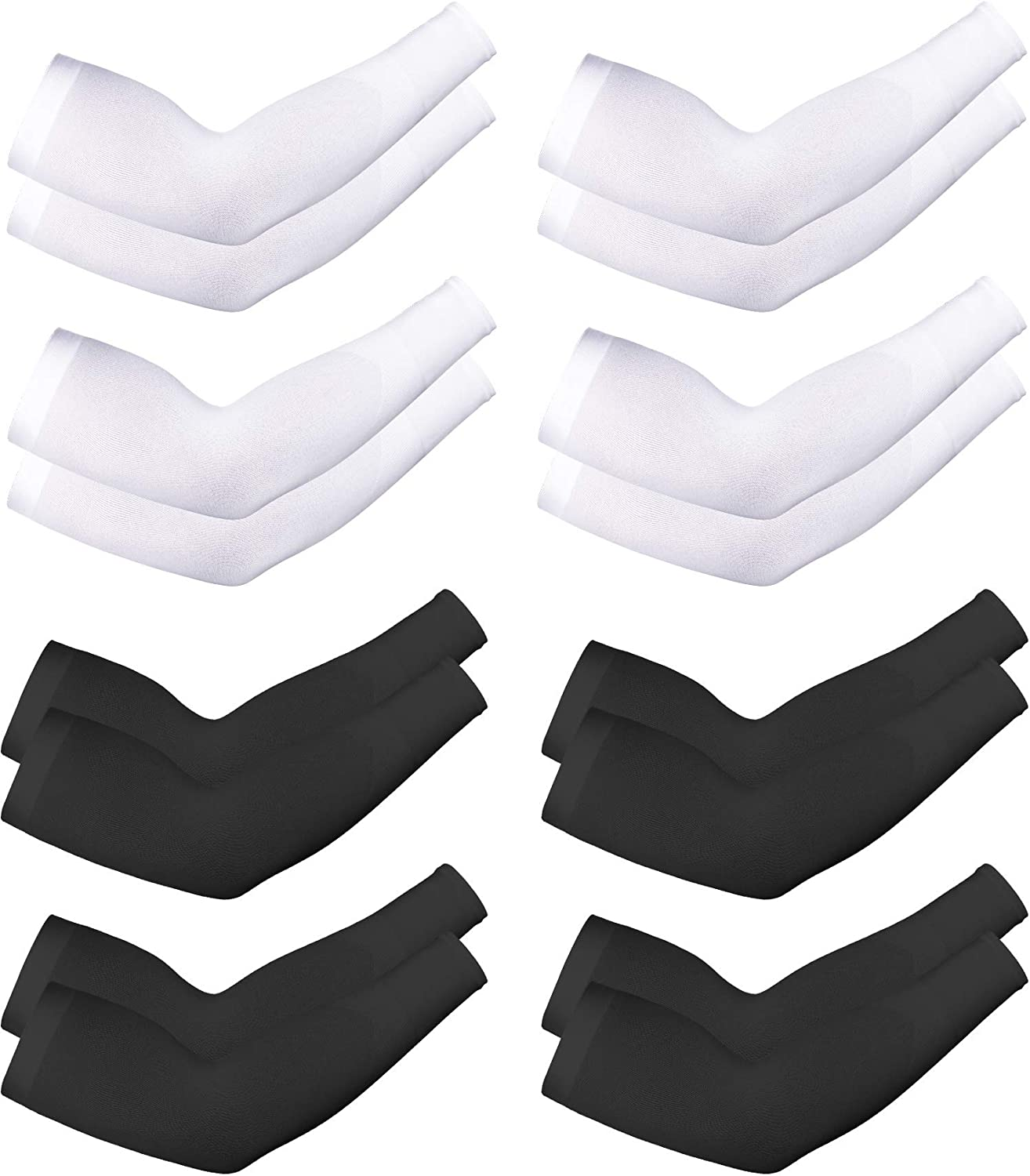 1Pair//4 pairs Wind Goal Summer Cooling Sleeves,UV Protection Arm Sleeves,Driving Arm Sleeves,Sleeves for Outdoor Sports