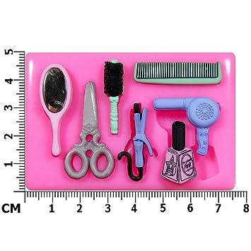Friseur Schönheit Salon Silikon Form Für Kuchen Dekorieren, Kuchen, Kleiner  Kuchen Toppers, Zuckerglasur