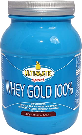 Ultimate 100% Whey Gold Food Supplement Gusto Cacao 750g
