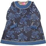 albetta アルベッタ/Blue Floral dress ブルーフローラルドレス/1-2y( 90cm )/コットン100%/CDE95113/180