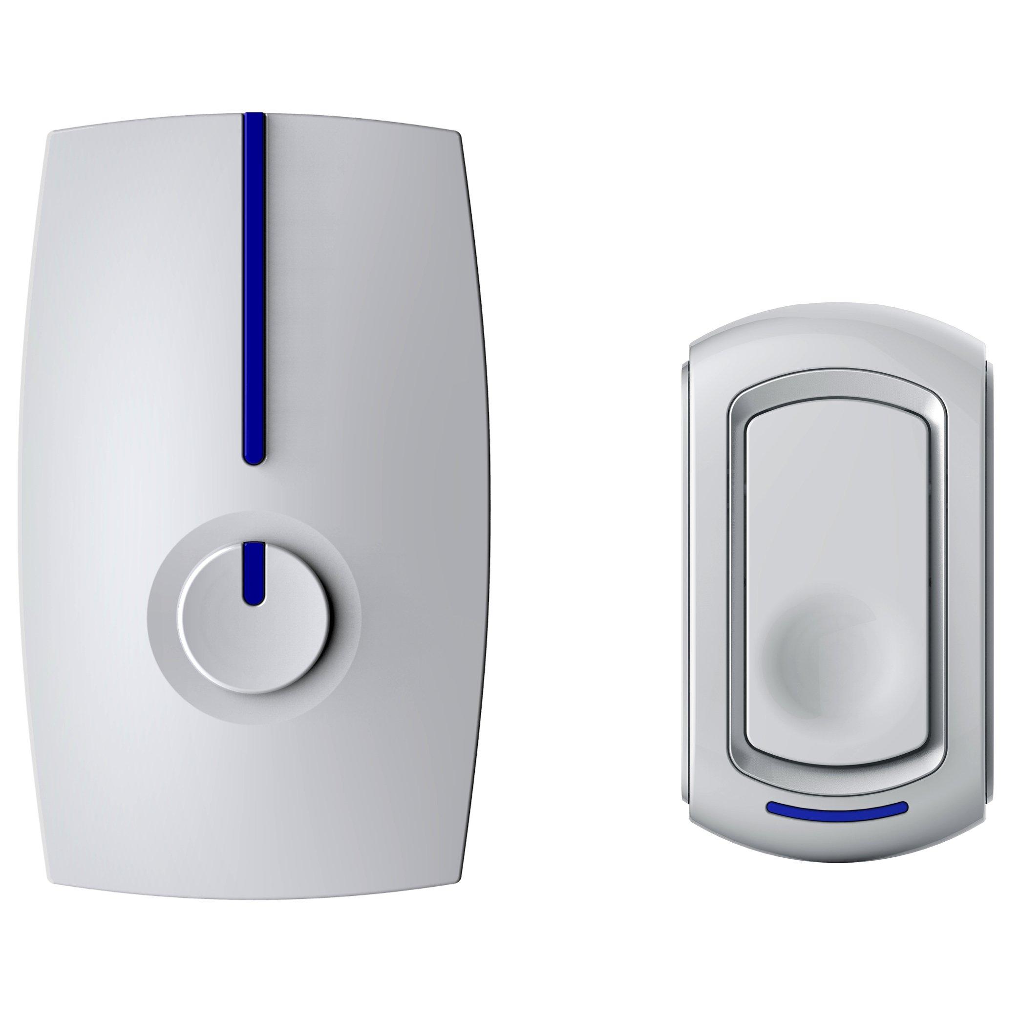 SadoTech Modern Series G Wireless Doorbell Operating at over 500-feet Range