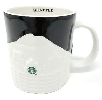 Amazon Com Starbucks Seattle Relief Mug 16 Fl Oz 11018566