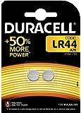 Duracell Batterie Alcaline Specialistiche a Bottone, Stilo LR44, Confezione da 2