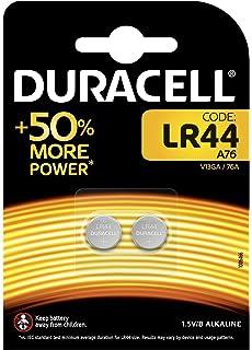 Duracell - LR44 - Pile bouton alcaline spéciale 1,5 V, pack de 2 ... ecd46f956027