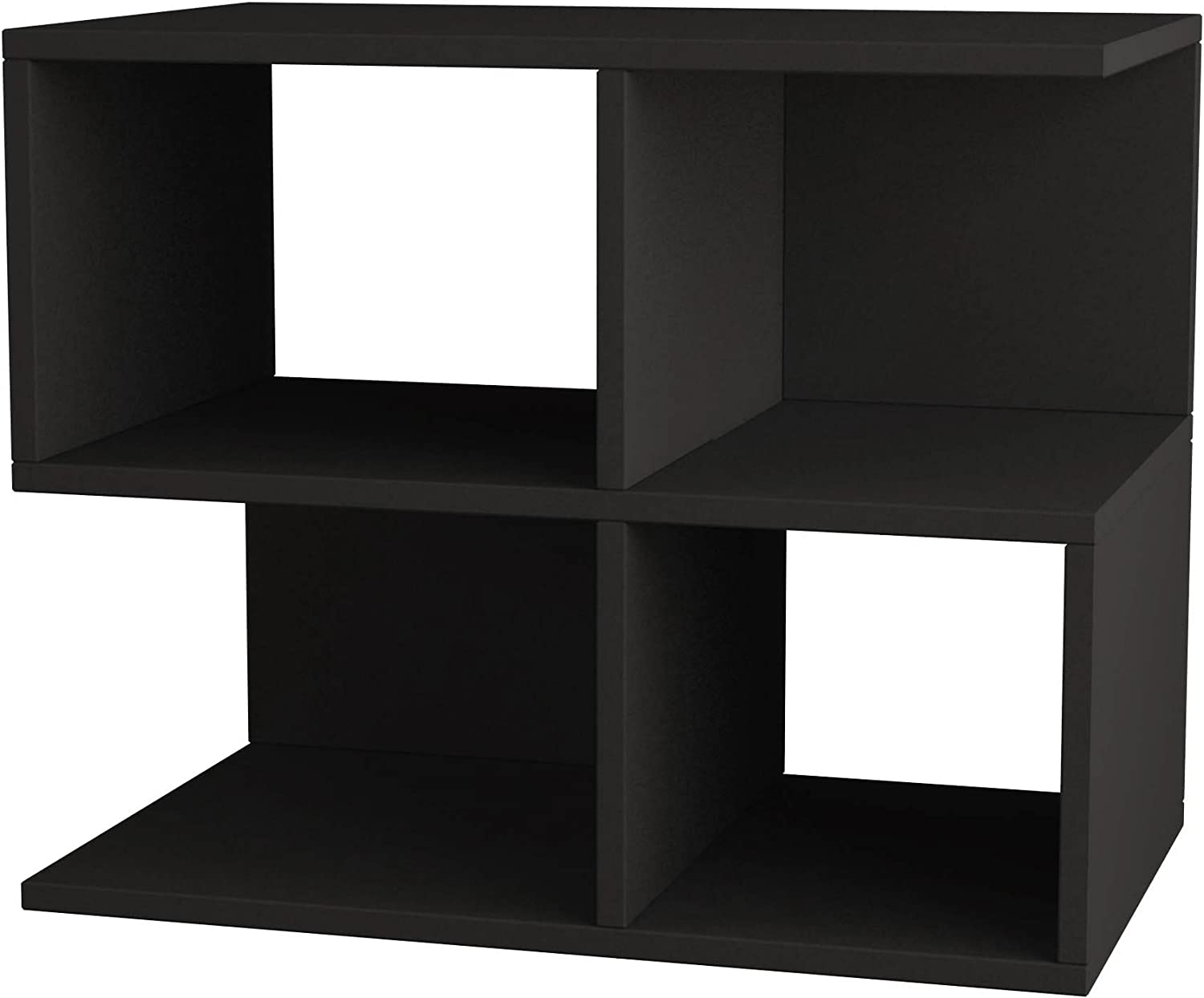 Ada Home Décor Sharon Side Table, 26'' x 21'' x 12'', Anthracite