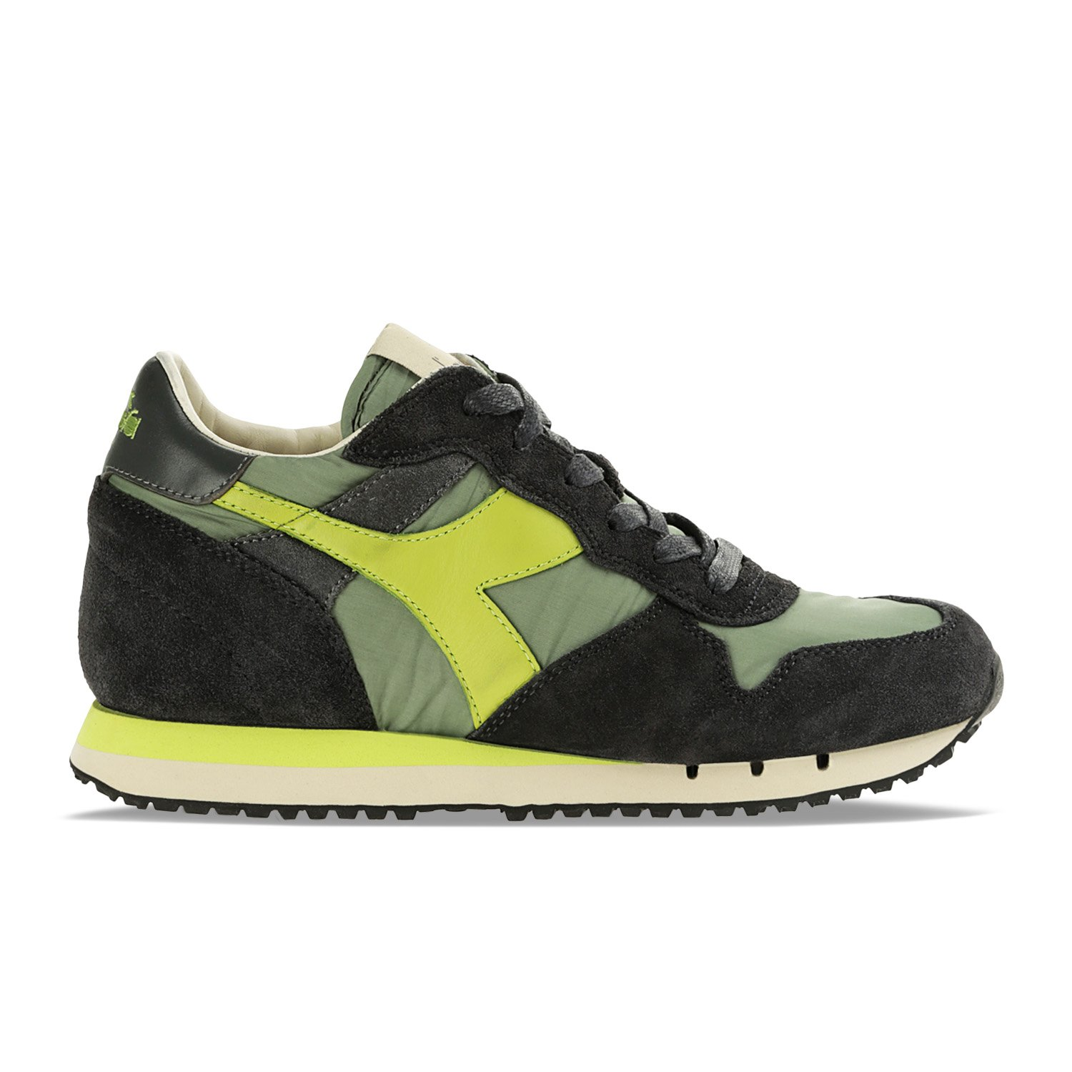 Diadora Heritage - Sneakers Trident W NYL para Mujer EU 39 - US 6.5 - UK 6 (cm 24.5)|70204 - Verde Frost Loden