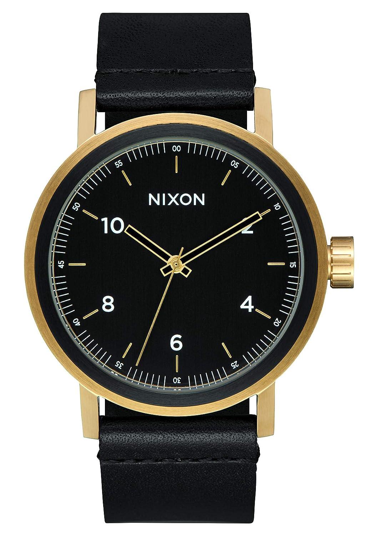 Nixon Reloj Analogico para Hombre de Cuarzo con Correa en Cuero A1194-1031-00