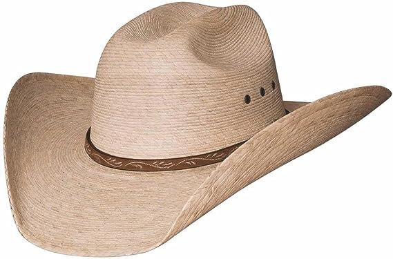 Montecarlo   Bullhide Hats - JASON - 10X Palm Leaf Straw Western ... 3a43eb49eab