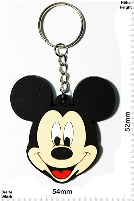 Keyring Keychains Llavero - Mickey Mouse - Head - Movie ...