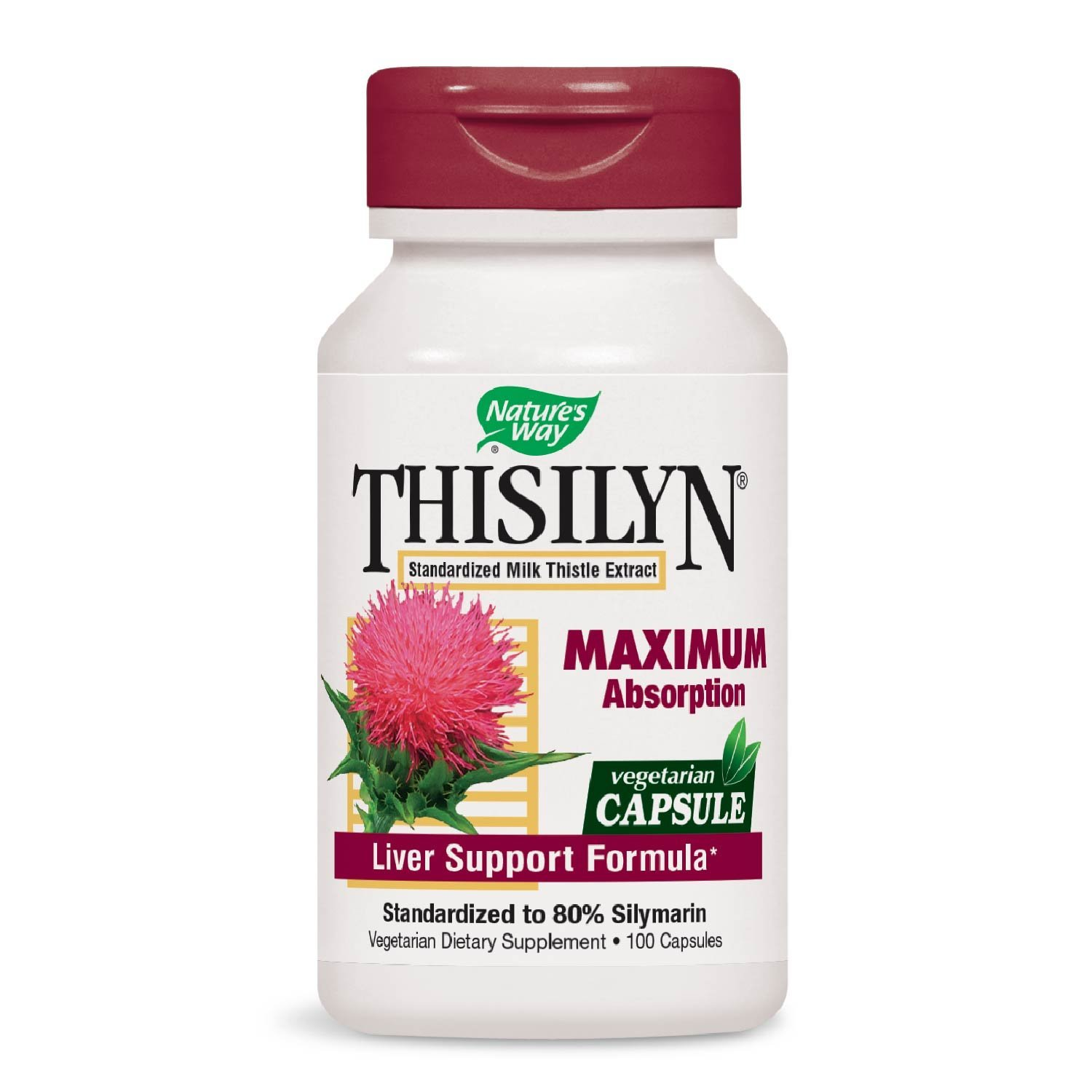 Nature's Way Thisilyn (Milk Thistle), 100 Vcaps