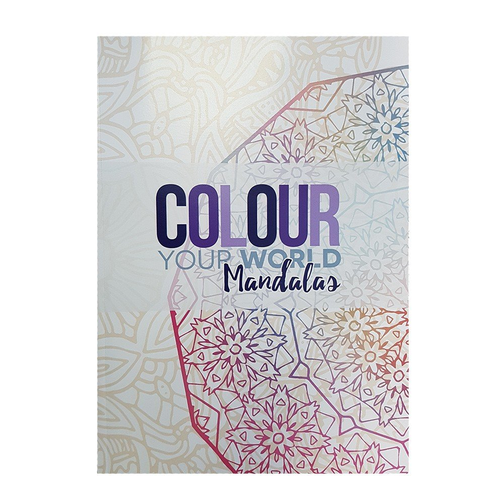 Read Online Colour Your World Adult Colouring Book - Mandalas ebook