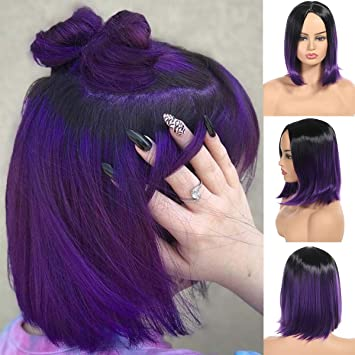 Straight Short Hair Ombre Up To 69 Off Free Shipping