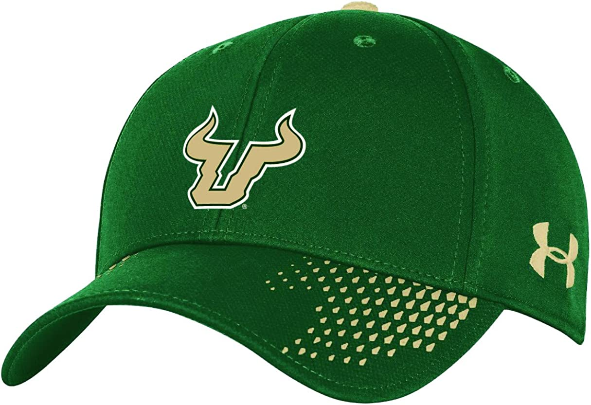 Forest Green One Size NCAA South Florida Bulls Adult NCAA Renegade Adjustable Cap