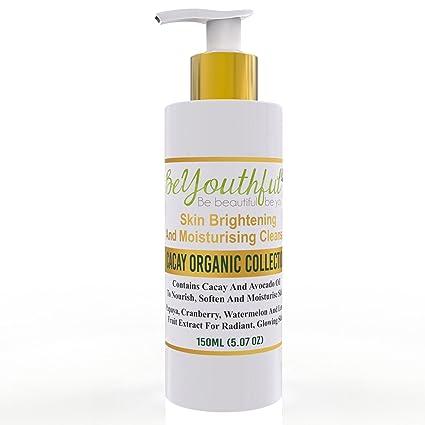 Limpiador facial con nutritivo aceite de cacay y aguacate, suave y exfoliante, con extractos