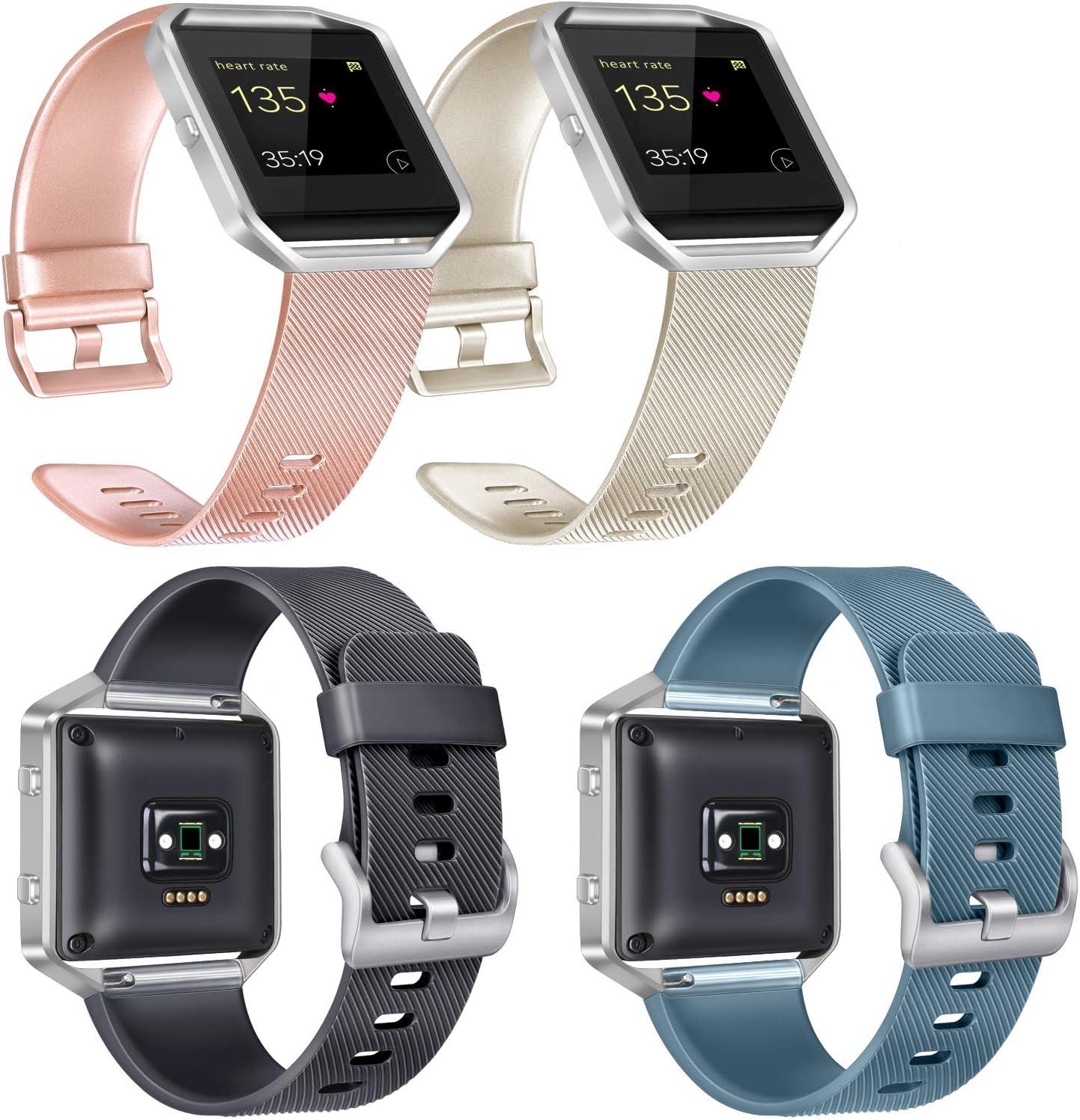 4 mallas para reloj Fitbit Blaze (talle s)