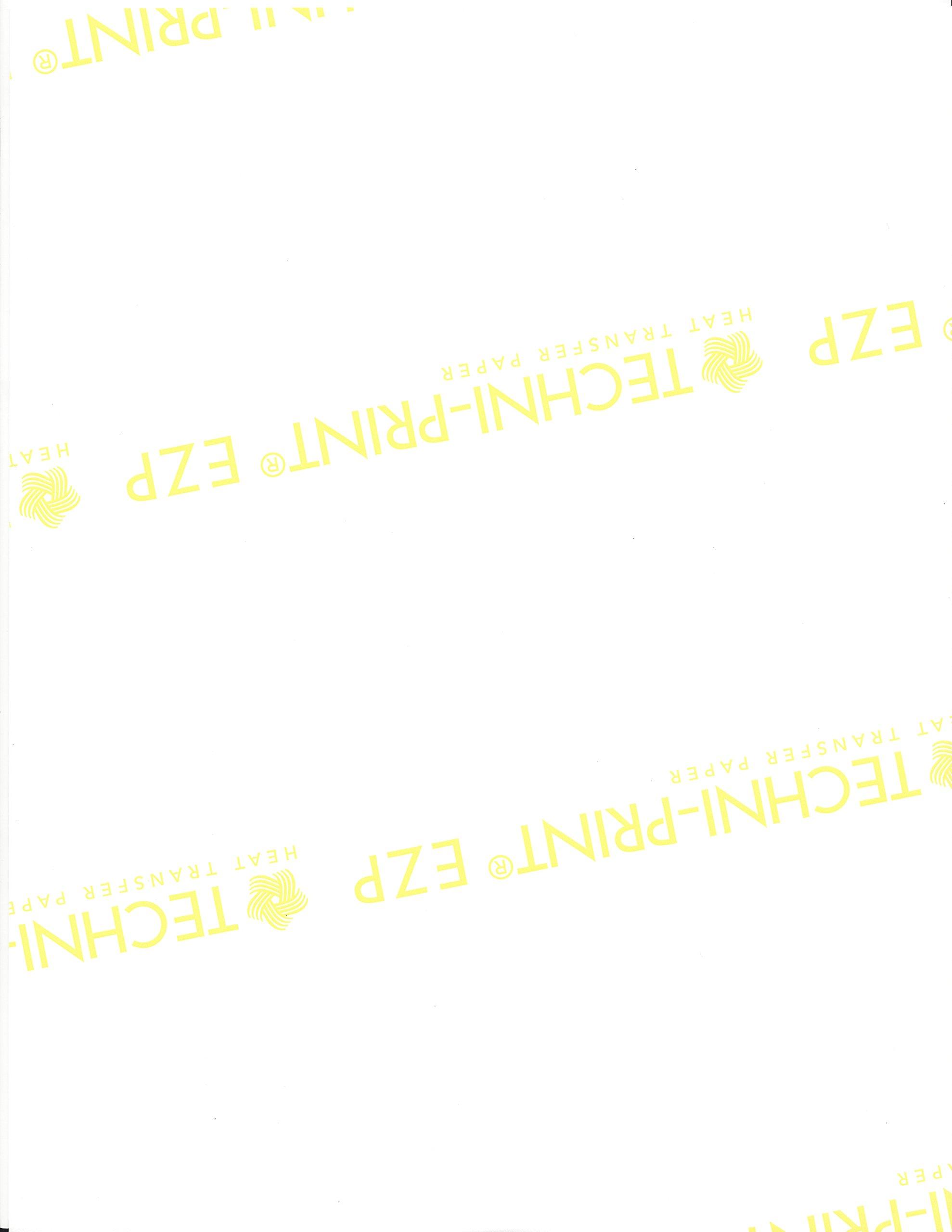 Techni-Print EZP Laser Heat Transfer Paper 8.5''x11'' 25