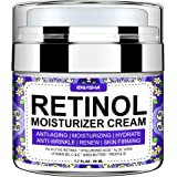 Wumal Retinol Moisturizer Cream for Face - Night Anti Wrinkle Cream for Women & Men - Results in 4 Weeks - Facial Cream with