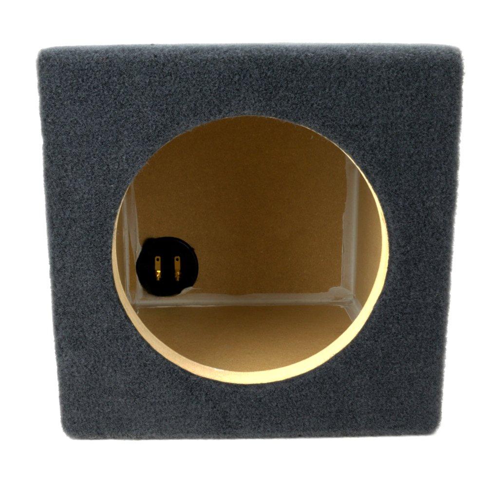 3//4 Premium MDF Built for Single JL Audio 12 W3v3 Car Sub Woofer Made in USA JL Audio 12W3v3 Subwoofer Sealed Box Enclosure 23 W x 14 H x 10 D 1.25 Cubic Feet Sealed