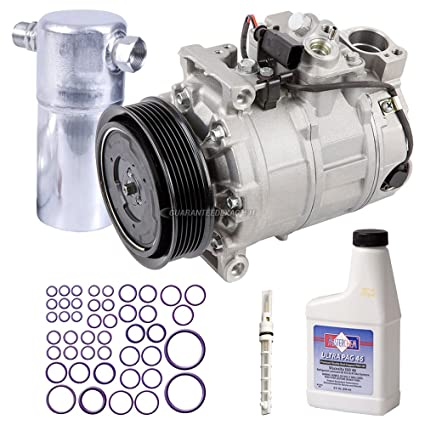 AC Compressor w/A/C Repair Kit For Audi A6 Quattro A6 2002 2003 2004 -  BuyAutoParts 60-81817RK New