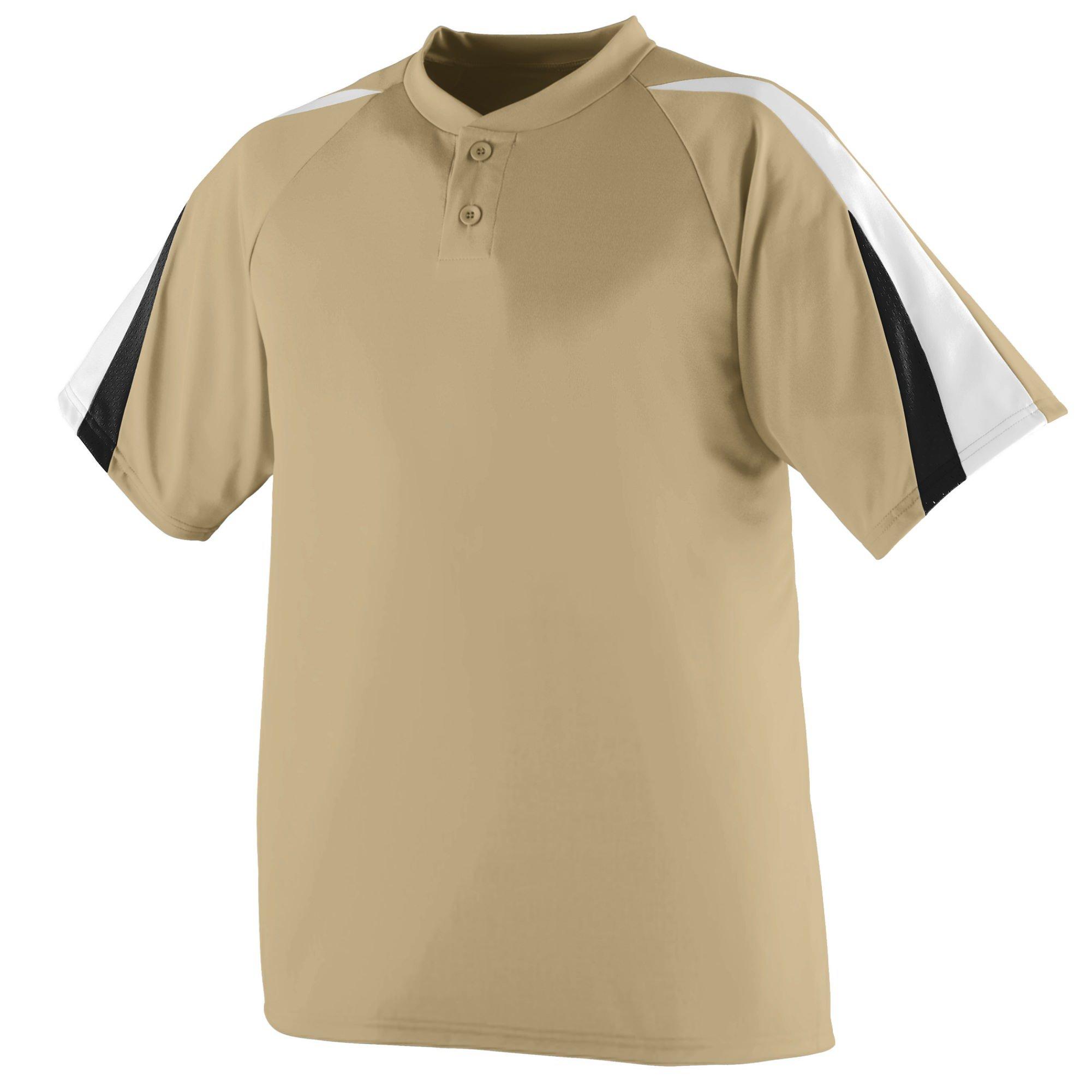 Augusta Sportswear Power Plus Jersey XL Vegas Gold/White/Black by Augusta Sportswear