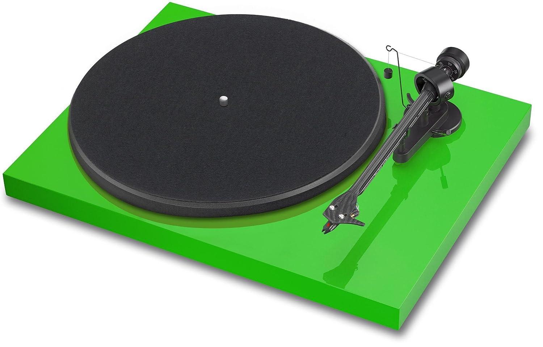 Project DC OM10 Tocadiscos Verde: Amazon.es: Electrónica