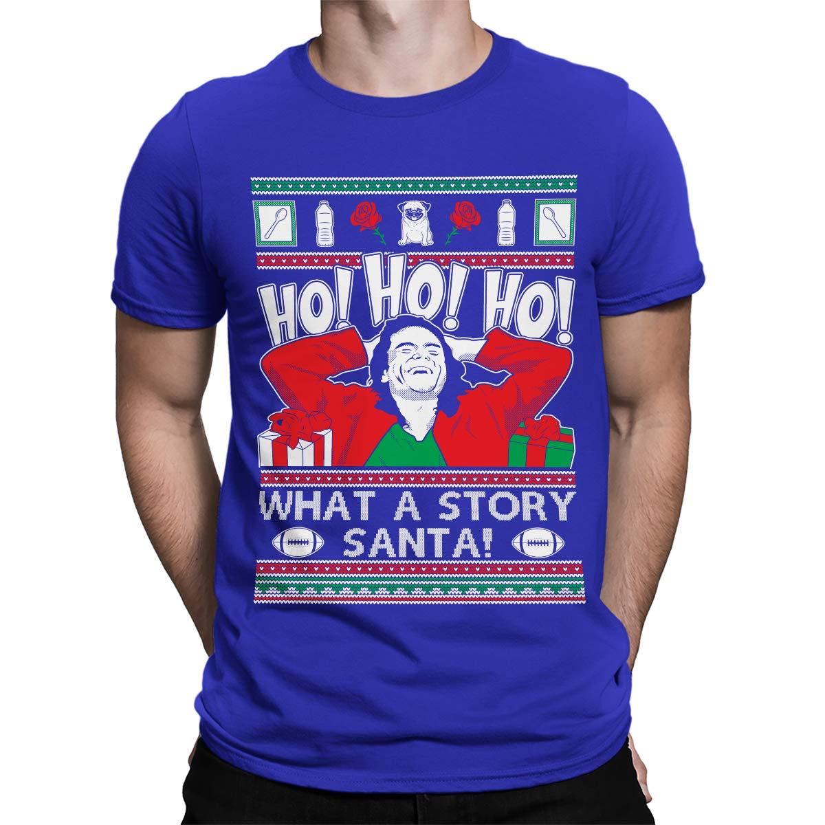 Apparel Ho Ho Ho What A Story Santa Tw S T Shirt