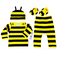 C-Sun Animal Theme 4 Piece Sets for Infants and Children 0 Months to Two Years Old