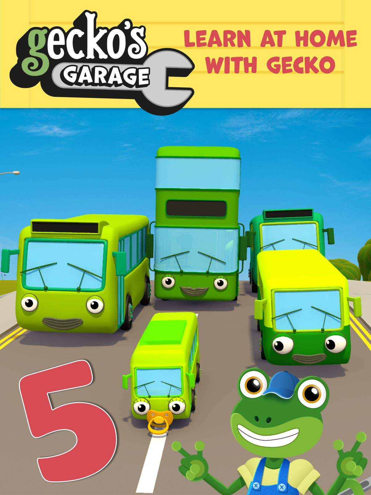Gecko's Garage - Learn At Home with Gecko