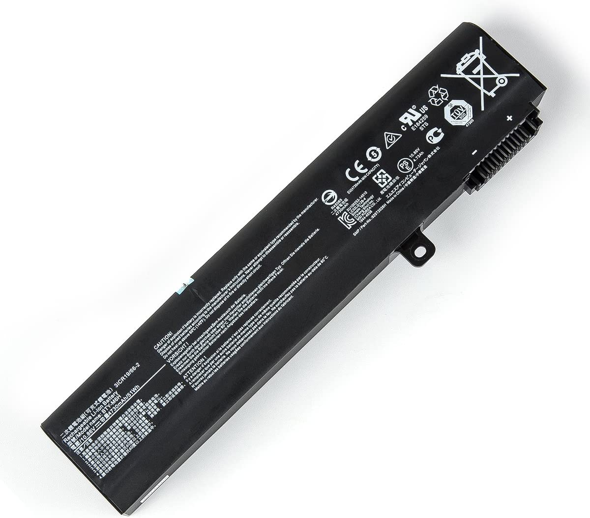 Amanda BTY-M6H Battery 10.86V 4730mAh/51Wh Replacement for MSI PE60 GE62 GP62 2QE GL62M GE62VR PE70 GE72 GL72 GP72 MS-1792 MS-16J2