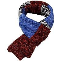 Yuson Girl Bufanda Hombr, Bufanda de Hombre la tela escocesa cozy Lana Abrigo Del Mantón cuello bufanda Regalos para Hombre unisexo