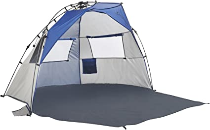 Blue//Silver Lightspeed Outdoors Quick Draw Sun Shelter
