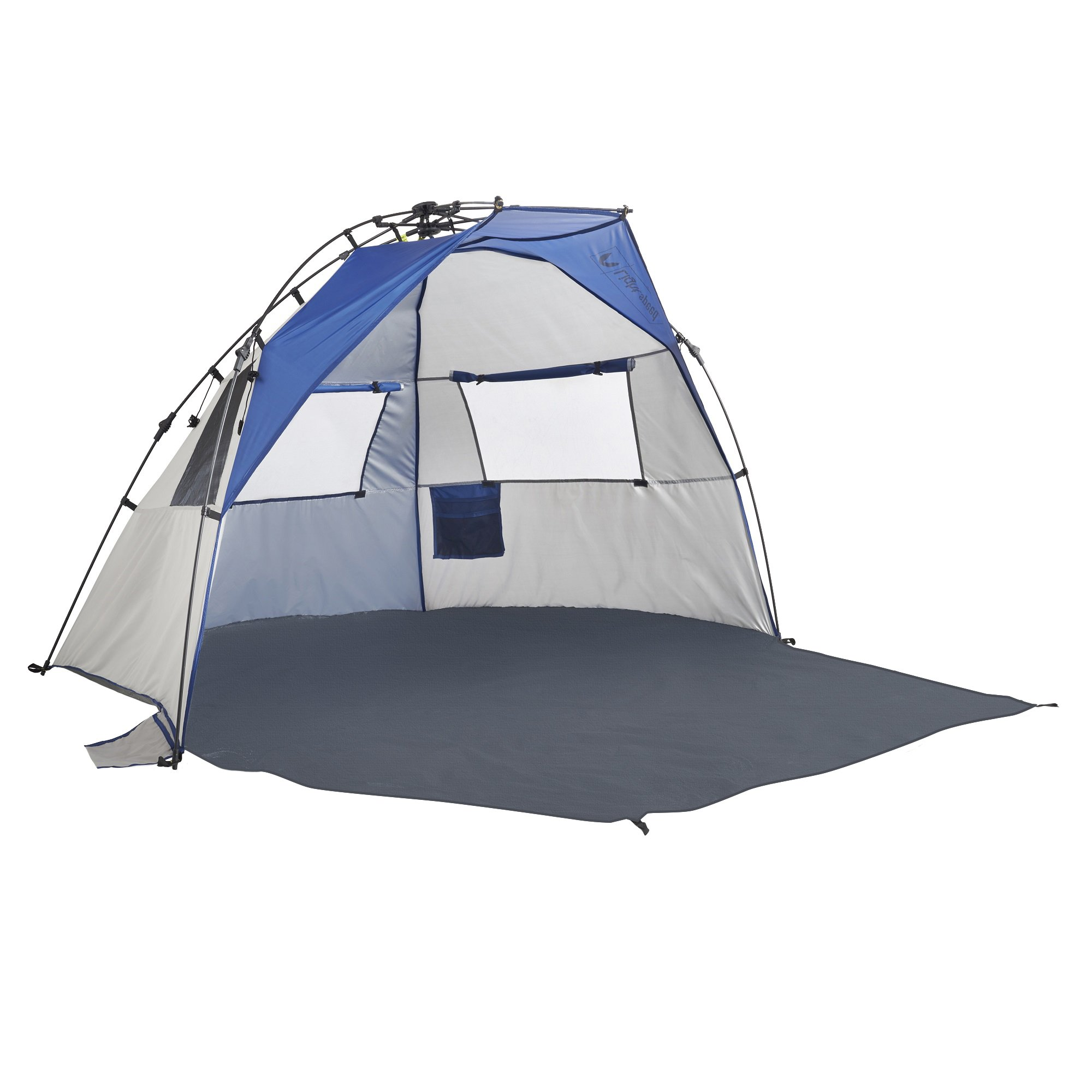 Lightspeed Outdoors Quick Cabana Beach Tent Sun Shelter, Blue by Lightspeed Outdoors