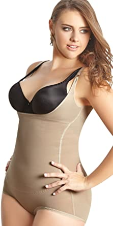 0a40bc733b Faja Colombiana Reductora Moldeadora - Women Plus Shaper Thermal Hip-Hugger  Beige