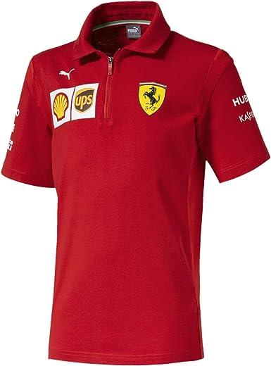 PUMA Ferrari Team Boys' Polo: Amazon.co