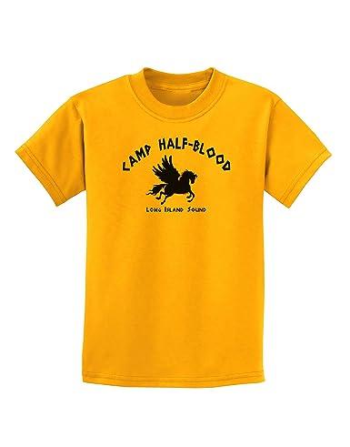 Amazon.com: Youth Camp Half Blood Child Tee - Childrens Half-Blood T-Shirt:  Clothing
