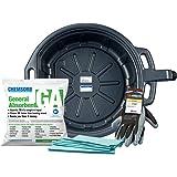 Groz - 41960MFK No Mess Oil Change Kit with 4-1/4 Gallon Drain Pan