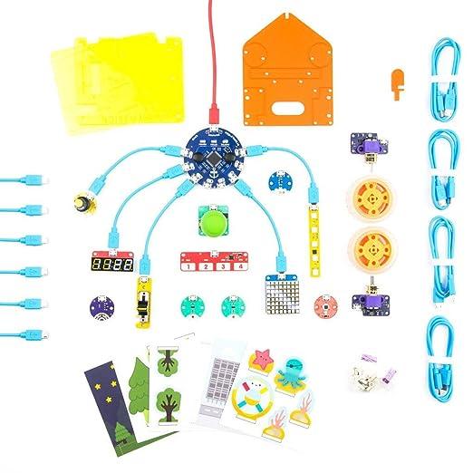Pimoroni Flotilla - Mega Treasure Chest Starter Kit: Amazon ...