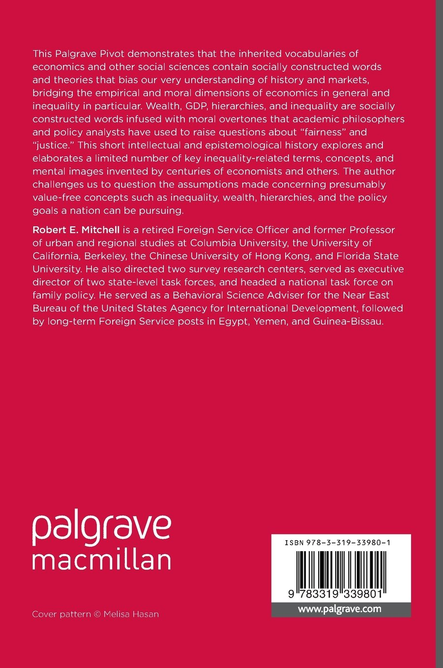 The Language of Economics: Socially Constructed Vocabularies and Assumptions by Palgrave Macmillan