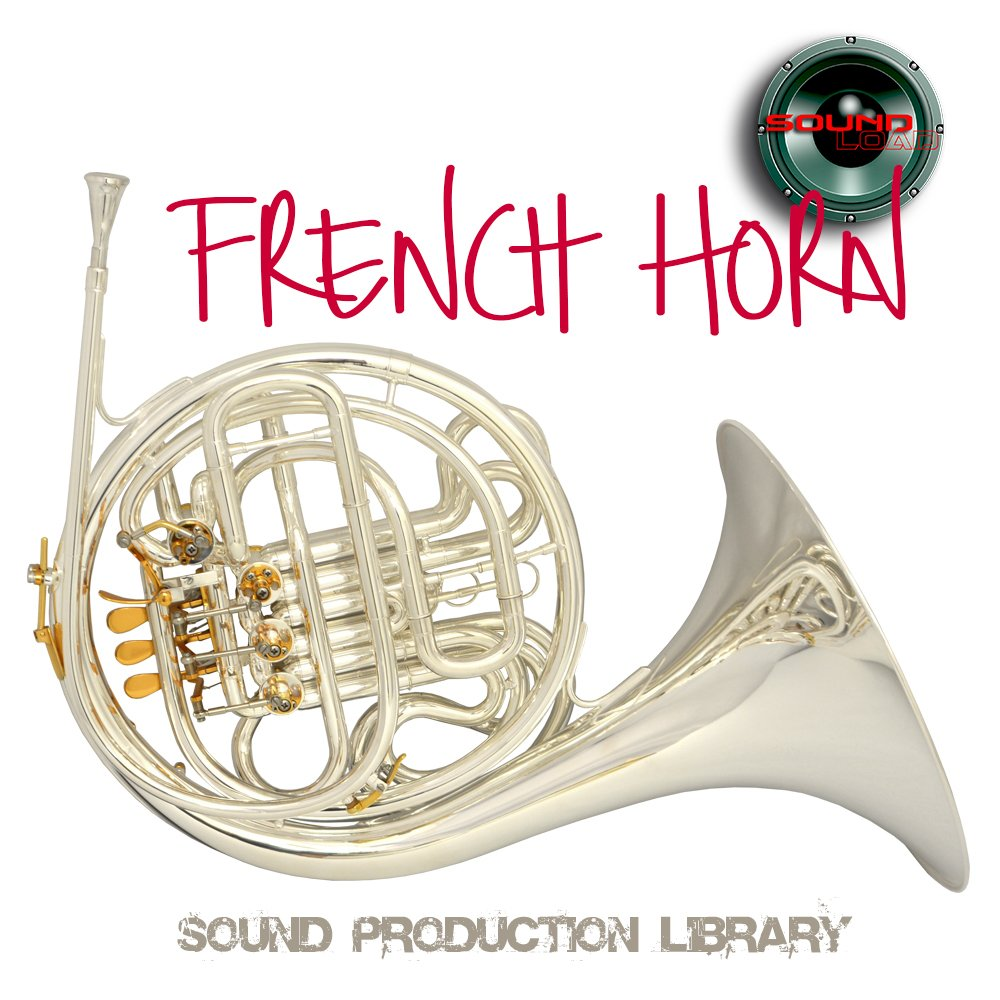 FRENCH HORN REAL - Large Unique 24bit WAVE/KONTAKT Multi-Layer Studio Samples Production Library over 16GB on 3 DVD or download by SoundLoad (Image #1)